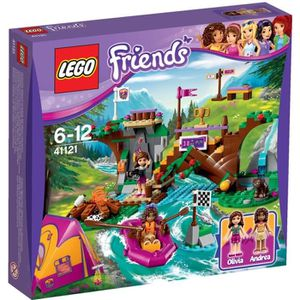 ASSEMBLAGE CONSTRUCTION LEGO® Friends 41121 Rafting à la Base D'Aventure