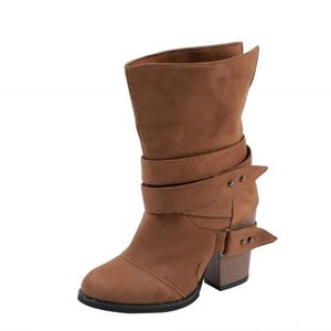 BOTTINE Boots Femmes,Mode Femmes Plus Bottes Cuissardes Pl