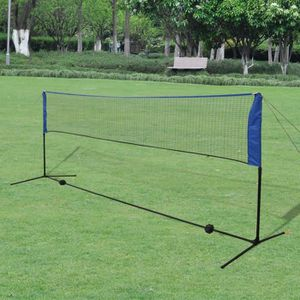 FILET VOLLEY-BALL Filet de badminton avec volants 300 x 155 cm