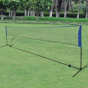 FILET VOLLEY-BALL Filet de badminton avec volants 600 x 155 cm