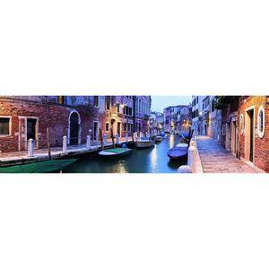 PUZZLE Puzzle 2000 pièces panoramique : Venise le soir ai