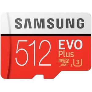 CARTE MÉMOIRE Samsung Carte Micro SD SDXC Evo Plus - 512 Go - av