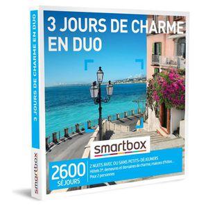 COFFRET SÉJOUR Coffret Cadeau - 3 jours de charme en duo - Smartb