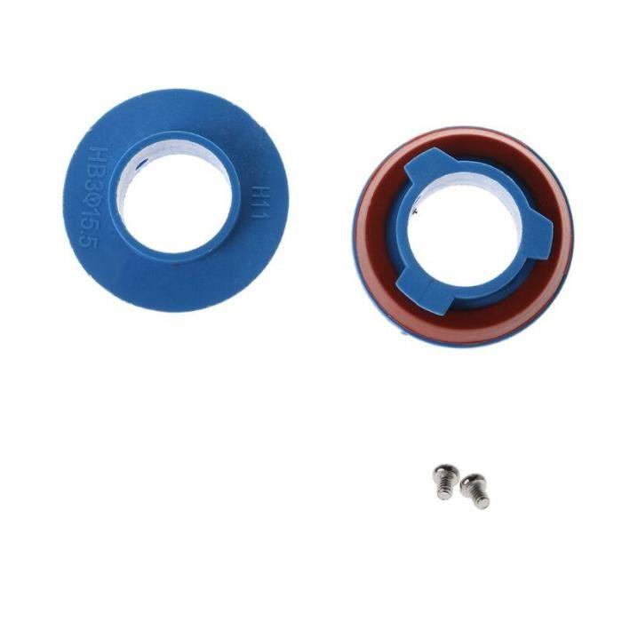 Douille d'adaptateur de Base d'ampoule 880-HB4-HB3-H11-H7-H4-H3-H1 pour phares halogènes de voiture 2 pièces [E89F77F]