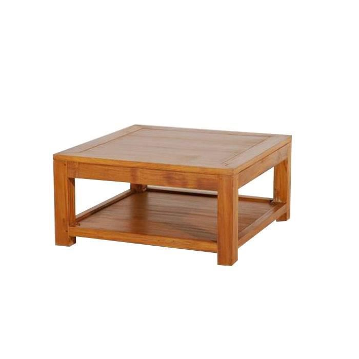 Biarritz table basse 80 x 80 cm achat vente table - Table basse 80 x 80 ...