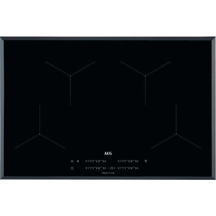 AEG IKB84431FB, Intégré, Plaque avec zone à induction, Céramique, Noir, 2300 W, Rectangulaire