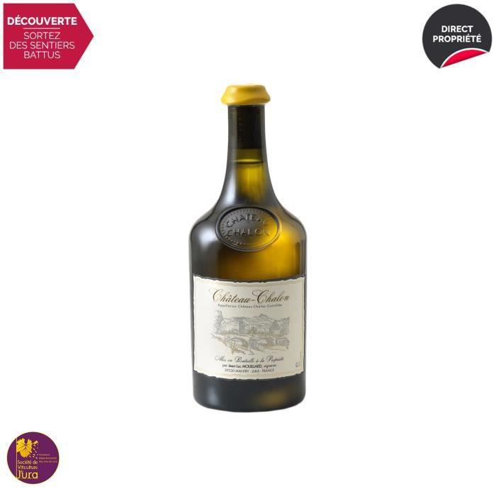 Château-Chalon Vin jaune Blanc 2012 - 62cl - Domaine Jean-Luc Mouillard - Vin AOC Blanc du Jura - Médaille d'Or Concours