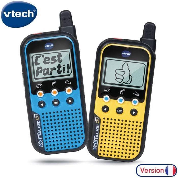 Kidi Talkie - Talkie walkie pour enfant - avec écran et jeux (518565)