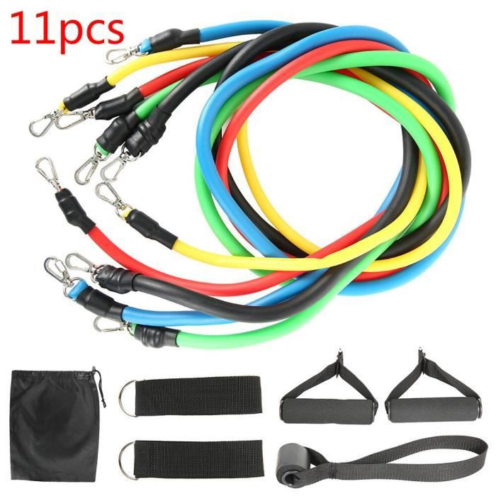 Fitness Pull Rope Resistance Bands Latex Strength Gym Equipment Home Elastic Exercises Body Fitness Workout Equipment