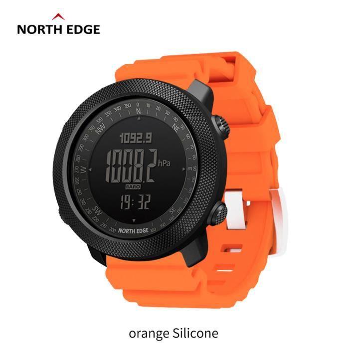 I North Edge APACHE Sports Smartwatch étanche 50 m natation altimètre baromètre boussole escalade militaire montre intelligente La