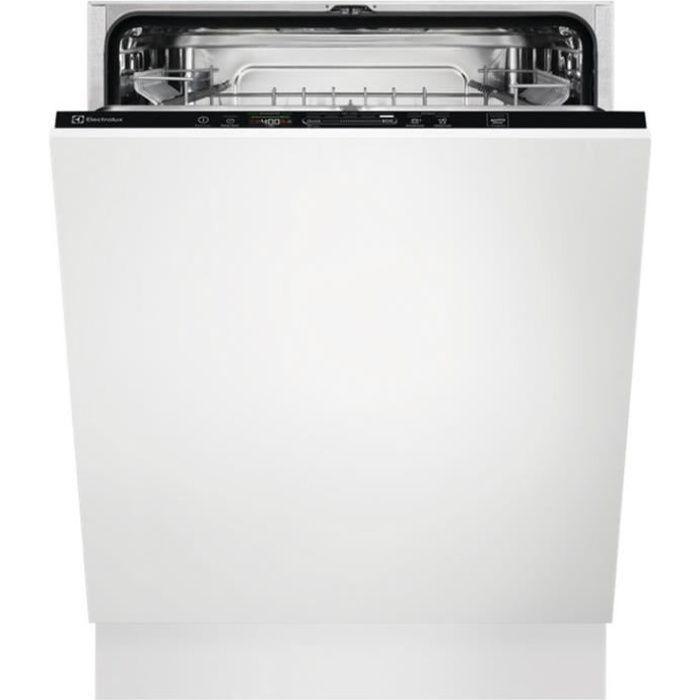 electrolux - lave-vaisselle 60cm 13c 42db a+++ tout intégrable - eeq47305l