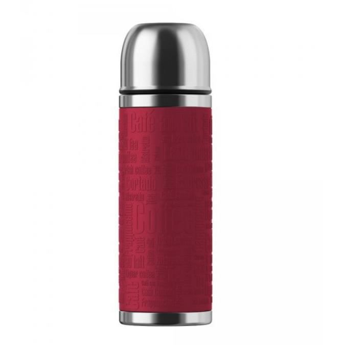 Emsa - bouteille isotherme inox 0,5l rouge - 515712