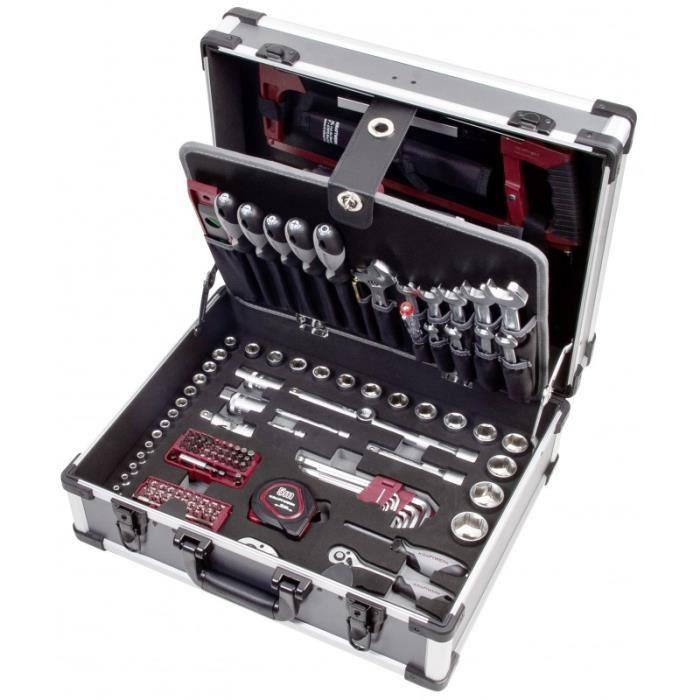 Coffret d'outils Kraftwerk B147 1/4 et 1/2 158 pièces 202.147.000