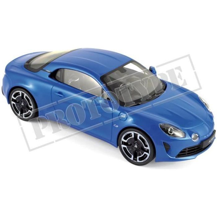 Véhicule Miniature assemble - Alpine A110 Legende bleu Alpine 2018 1-18 Norev