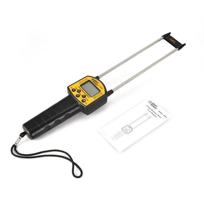 AR991 Humidimètre numérique professionnel pour grains de maïs, blé, grain de riz, noir