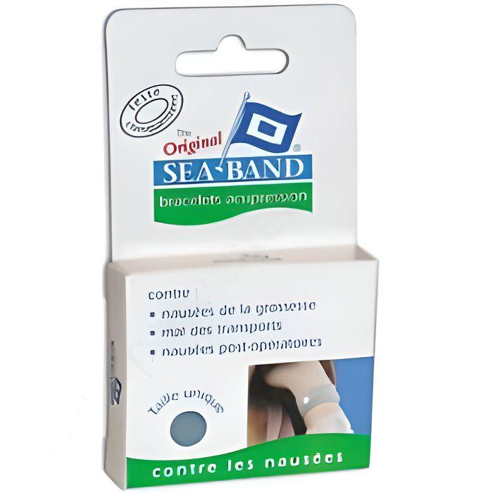 SEA-BAND Bracelet Anti-Mal de Mer Adulte (2 Bracelets).