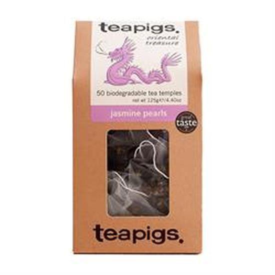 Très Teapigs de thé vert délicat avec un rafraîchissant floral lumière naturelle