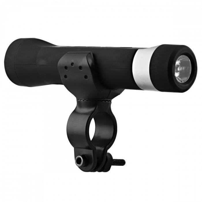 TNB URBAN MOOV - Enceinte Bluetooth vélo 5 en 1 - noir