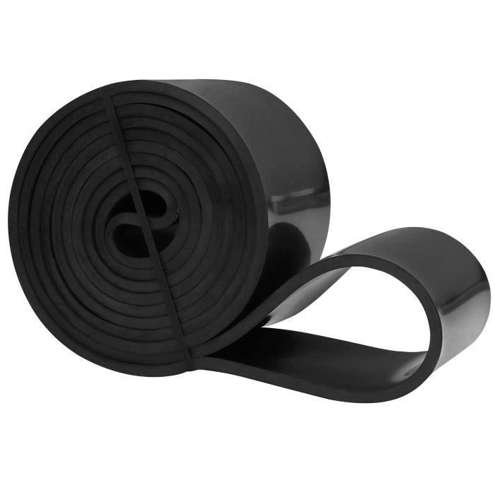 Résistance Élastique pour Fitness, Crossfit, Musculation, Yoga, Pilates - Noir