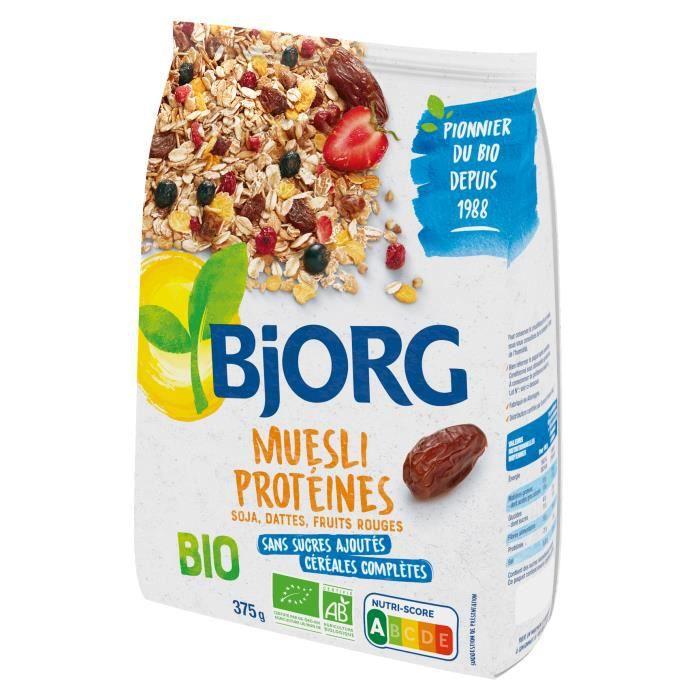 Bjorg Muesli Protéines Soja 375g