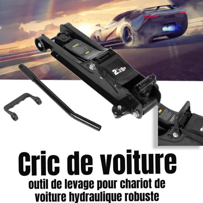 Cric de Chariot hydraulique 2.5T de levage de pneus de réparation voiture LAM78
