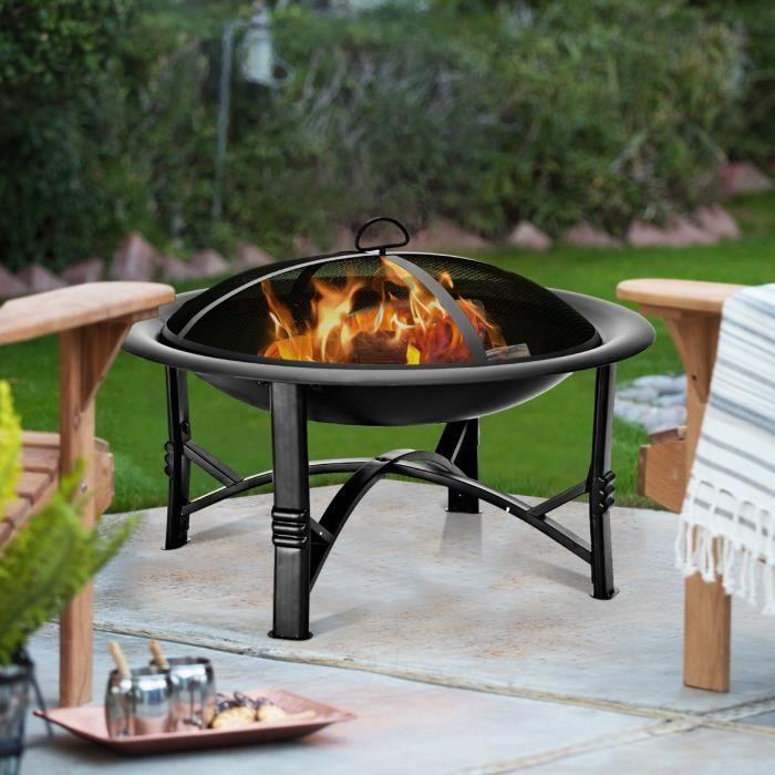 Brasero Design Chauffage Decoration Jardin Exterieur Neuf 51 Barbecue