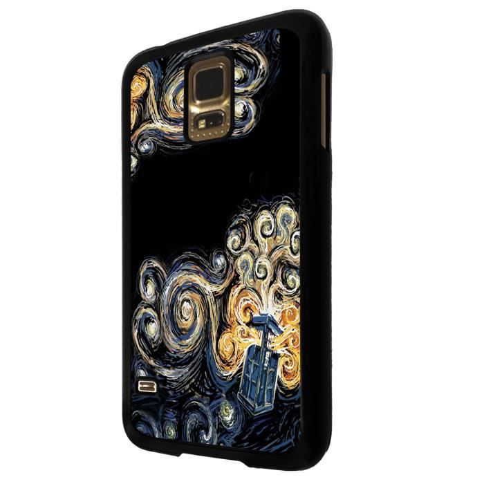 Doctor who tardis van gogh canvas samsung galaxy s5 mini - Espionner portable sans y avoir acces ...
