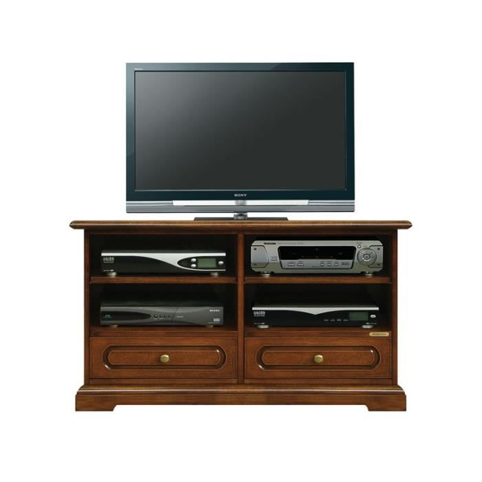 meuble tv 2 tiroirs et tag res achat vente meuble tv. Black Bedroom Furniture Sets. Home Design Ideas