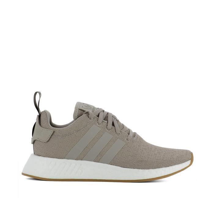 basket adidas tissu gris