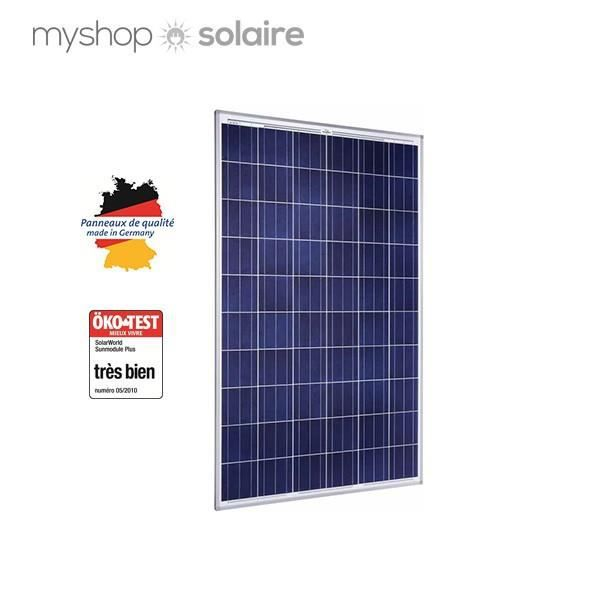 panneau solaire 250w poly solarworld achat vente kit. Black Bedroom Furniture Sets. Home Design Ideas
