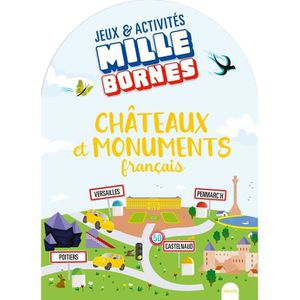 LIVRE JEUX ACTIVITÉS Châteaux et monuments français