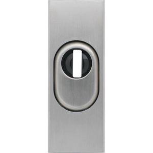 ABUS 237690 RS309 F1 SB Rosace de protection pour serrure de porte en m/étal Aluminium 10 mm