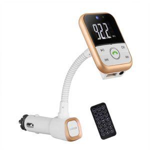 LECTEUR MP3 Bluetooth Transmetteur FM sans fil allume-cigare R