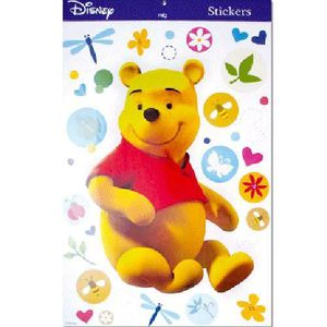 STICKERS Sticker Deco Winnie assis