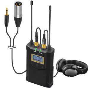 MICROPHONE EXTERNE Récepteur de microphone sans fil émetteur-récepteu