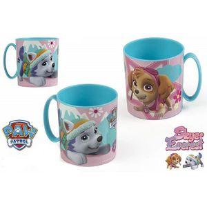 MÉNAGÈRE Tasse la Pat Patrouille Disney mug plastique gobel