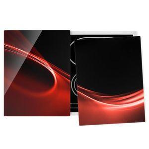 PLAQUE INDUCTION Couvre plaque de cuisson - Red Wave - 52x80cm, pro
