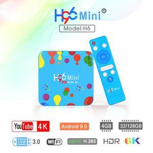 BOX MULTIMEDIA TV Box Android 9.0, Bluetooth 4.0 Box TV 4K Ultra