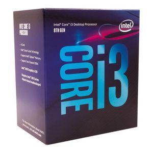 PROCESSEUR Intel Core i3-8100 3.6GHz 6Mo Smart Cache Boîte pr