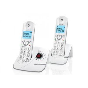 Téléphone fixe Téléphone fixe - Alcatel - Versatis F390 Duo Répon