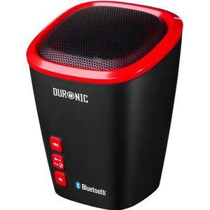 ENCEINTE NOMADE Duronic SPB2 -RD Enceinte portable sans fil Blueto