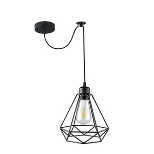 LUSTRE ET SUSPENSION EXBON Lustre Suspension Luminaire Cage diamant Des