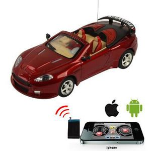 VOITURE À CONSTRUIRE Voiture cabriolet RC iPhone-iPad-iPod-Android