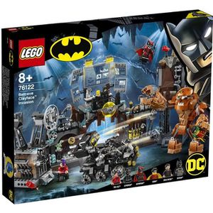 ASSEMBLAGE CONSTRUCTION LEGO® DC Comics Super Heroes 76122 L'invasion de l