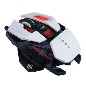 SOURIS MADCATZ Souris gamer RAT PRO S3 BLANCHE