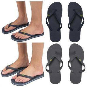 Drapeaux Cup Summer Beach Sandals Slippers mondiale Brésil Tongs W63Lsl