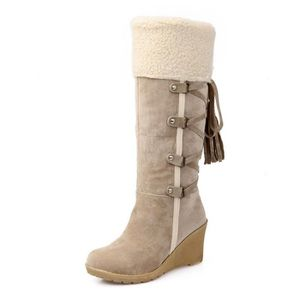 BOTTE bottes femmes Bottes mode Mince mode d'hiver cuiss