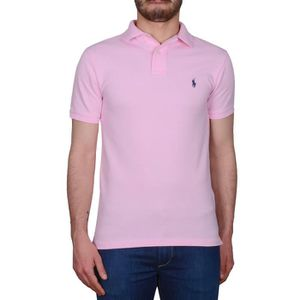 5ff74e617578b9 RALPH LAUREN HOMME A12XZ7WUXY7WPXW7MS ROSE COTON POLO Rose Rose ...