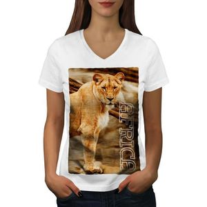 T-SHIRT Afrique Lion La nature Animal Women  T-shirt à son