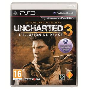JEU PS3 UNCHARTED 3 DRAKE'S DECEPTION GOTY / PS3